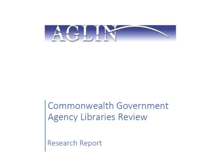 Commonwealth government agency libraries review