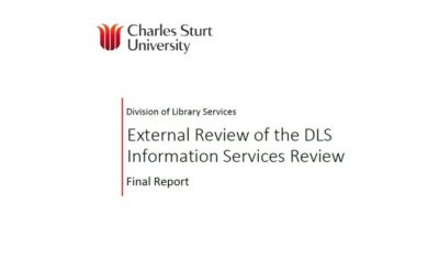 Charles Sturt University: External review of the DLS Information Services review